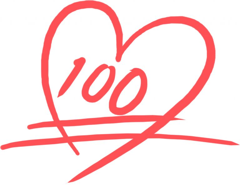 100点満点のハート