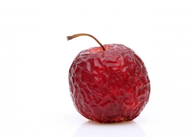 萎びたリンゴ