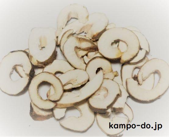 漢方薬に使用する生薬の牡丹皮(ボタンピ)