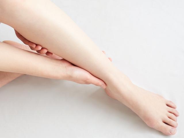 足のむくみのイメージ