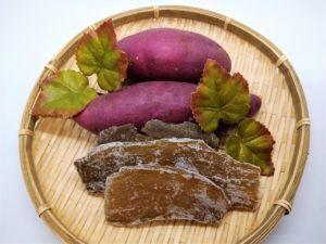 サツマイモと干し芋